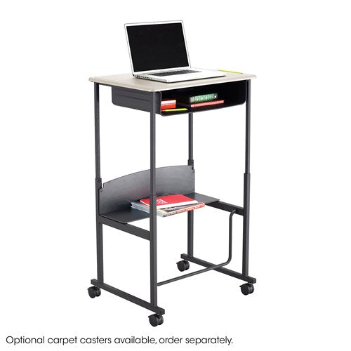 "Safco AlphaBetter® Height-Adjustable Desk, 36 x 24"", Premium or Dry Erase Top"
