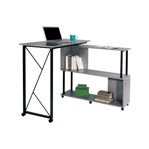 Safco Mood™ Standing Height Desk with Rotating Work Surface