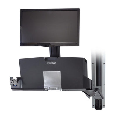 Ergotron StyleView® Sit-Stand Combo System with Worksurface