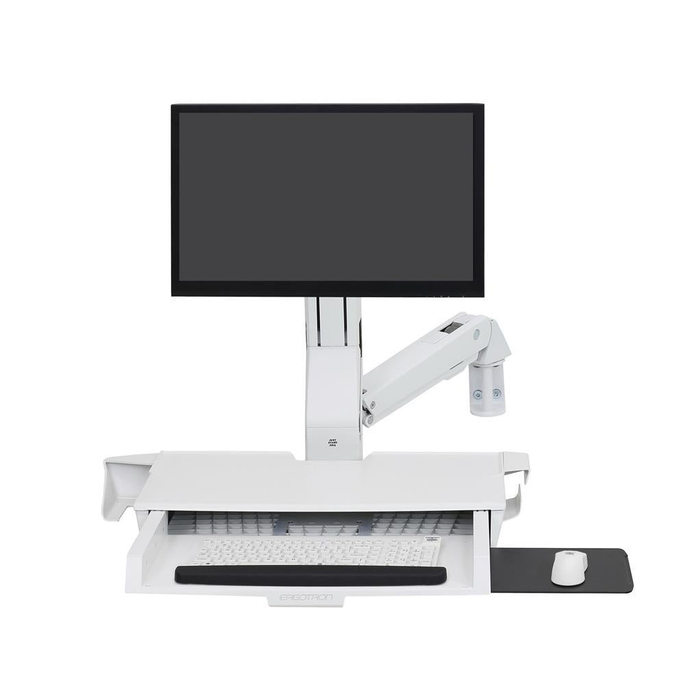 Ergotron StyleView® Sit-Stand Combo Arm with Worksurface