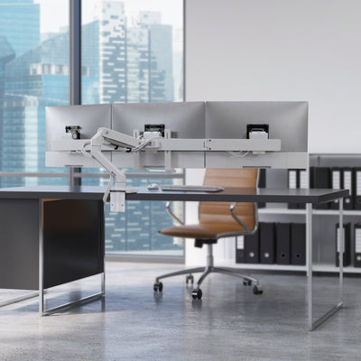 Ergotron HX Desk Triple Monitor Arm