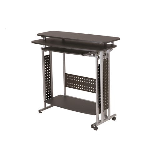 Safco Scoot™ Shift Standing-Height Desk with Rotating Work Surface