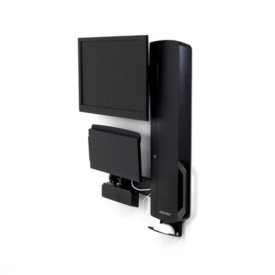 Ergotron StyleView® Sit-Stand Vertical Lift, High Traffic Area