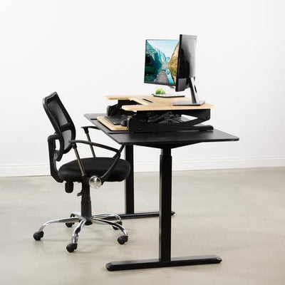 "Vivo Oak 36"" Desk Riser DESK-V000VO"