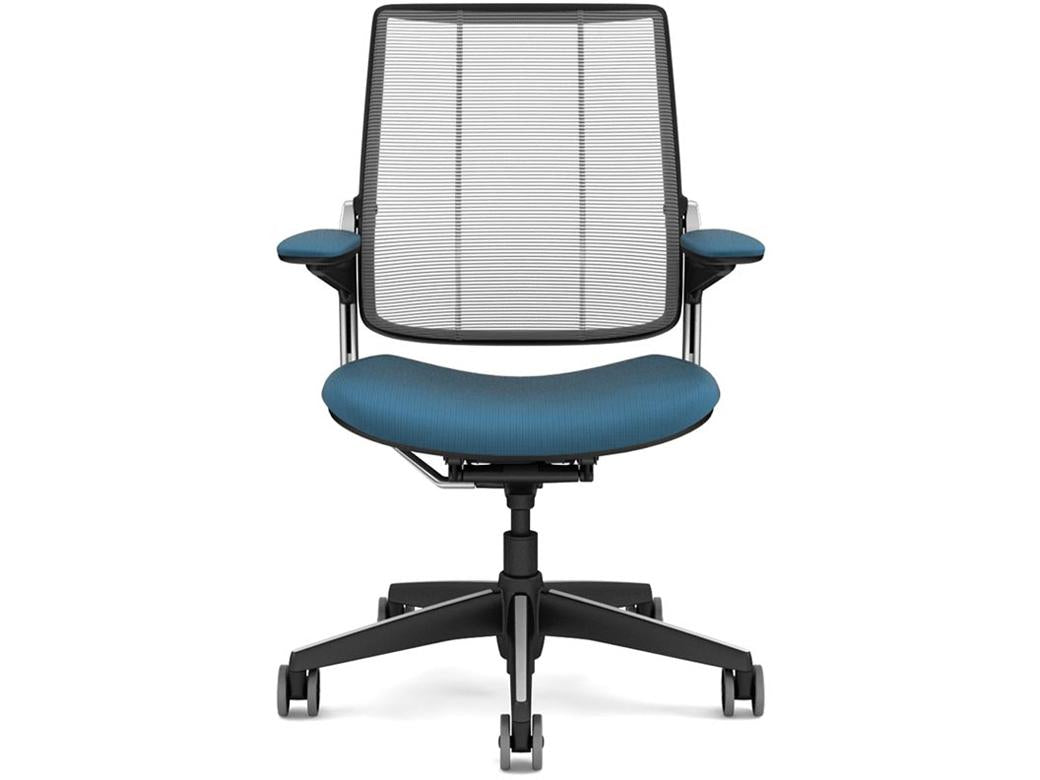 Humanscale Diffrient Smart Chair - Platinum/Navy