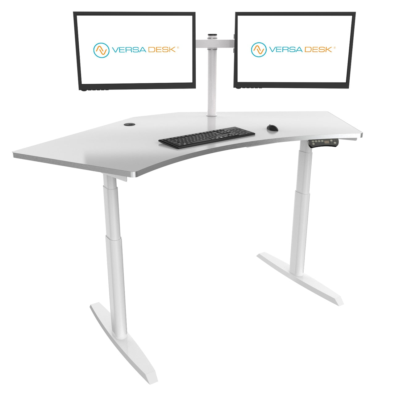 VersaDesk PowerLift® Trio Standing Desk