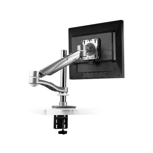 Safco Pole Mount, Single Arm Monitor Mount