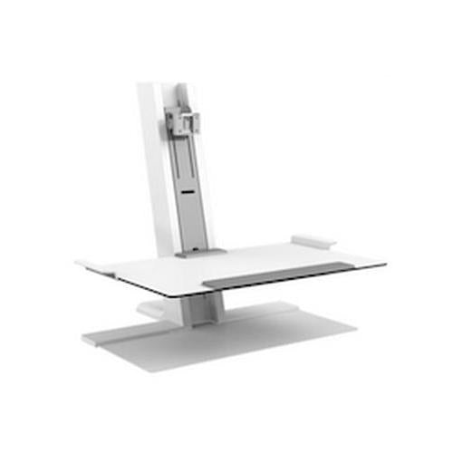 Humanscale QuickStand Heavy Mount With Large Platform, FreeStanding