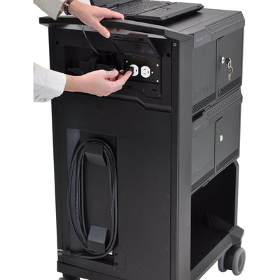 Ergotron Tablet Management Cart 32, with ISI DM32-1004-1