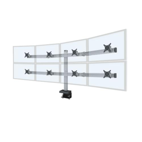 Innovative Bild 4 Over 4 Monitor Mount Bild 4/4