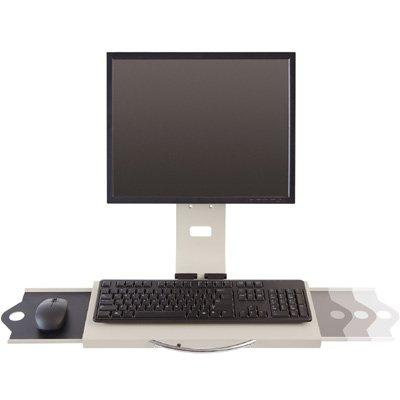 Innovative Data Entry Monitor Arm and Keyboard Tray 7509