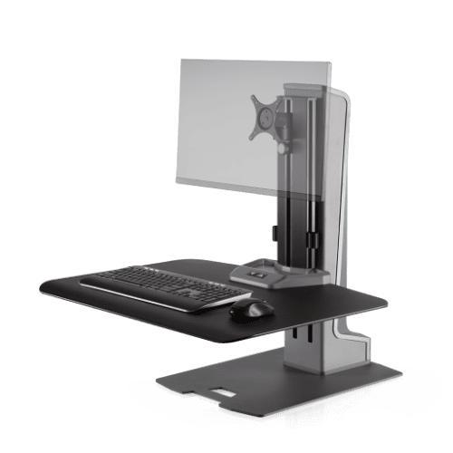 Innovative Winston-E® Electric Sit-Stand Workstation Single Monitor Mount