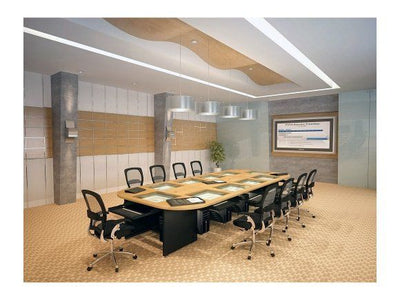 VersaDesk Downview Rectangular Conference Table