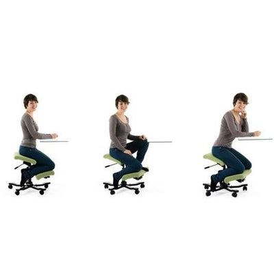 Varier Variable Wing Balans Kneeling Chair Fame Black - Quick Ship