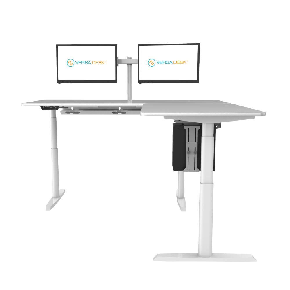 VersaDesk PowerLift® L-Shaped Standing Desk