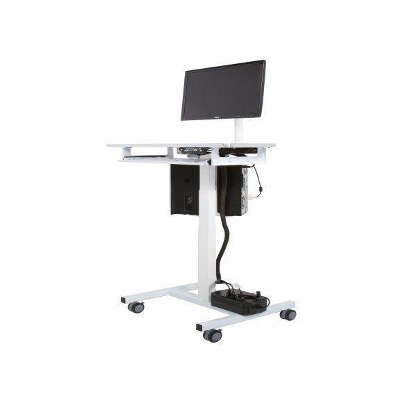 VersaDesk Sit to Stand Compact Computer Cart Mobile Workstation SKU:CSTSCD
