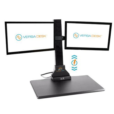 VersaDesk Sunrise Electric Desk Riser - Dual Monitor