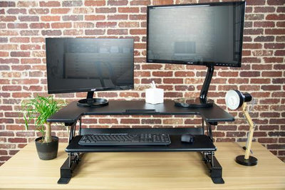 "Vivo  DESK-V000B Black 36"" Desk Riser"