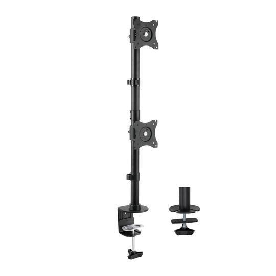 Vivo Dual Vertical Monitor Desk Mount STAND-V002R