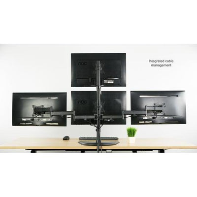 Vivo Quad Monitor Desk Stand STAND-V004Z