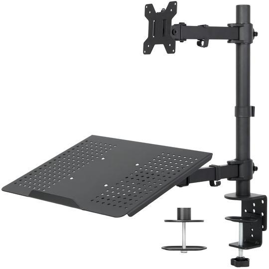 Vivo Single Monitor and Laptop Desk Mount STAND-V002C