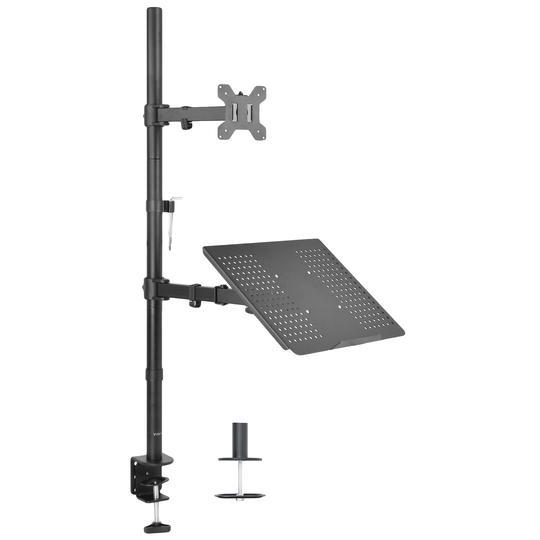 Vivo Single Monitor and Laptop Extra Tall Desk Mount STAND-V012C