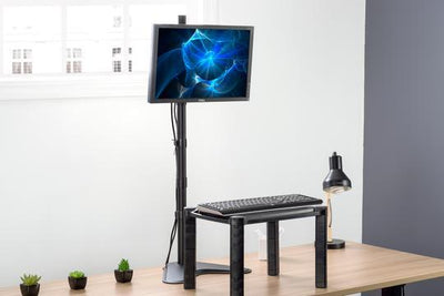 Vivo Single Monitor Extra Tall Desk Stand STAND-V011H