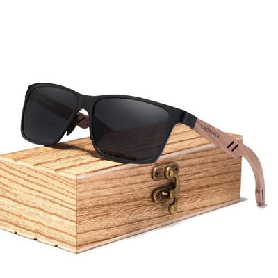 Men Wood Sunglasses