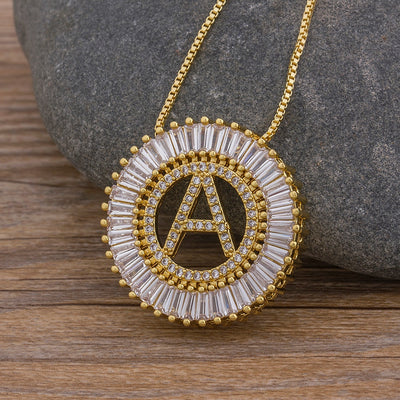 Women's A-Z Initials Pendant Necklaces - Charm Chain Jewelry 2019