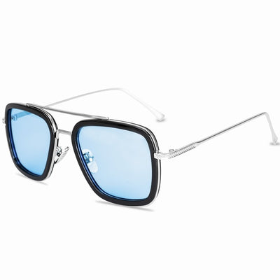 New Fashion Avengers Tony Stark Sunglasses - Men's Square Glasses