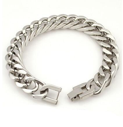 Men Classic Stainless Steel Bracelet
