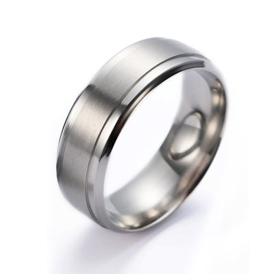 Man Brushed Ring