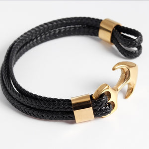 Man Anchor Bracelet