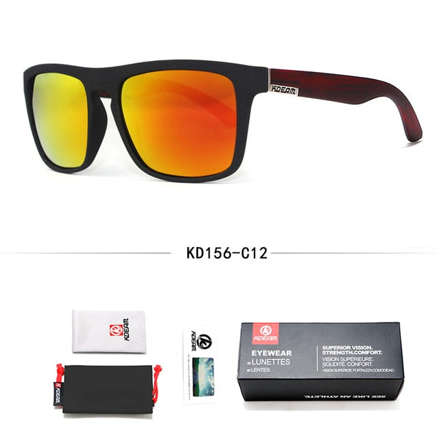 Man Polarized All-Fit Mirror Sunglasses