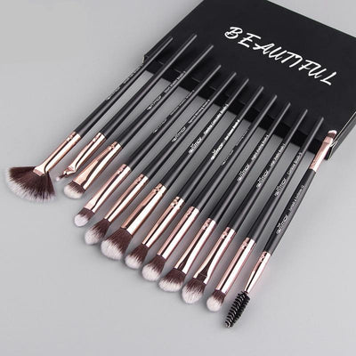 12 pcs/lot Makeup Brushes Set