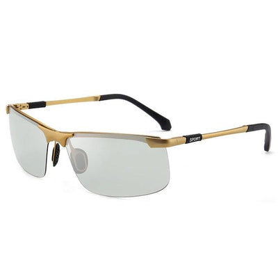 Men's Square Sunglasses - Polarized Driving Eyewear Fashion 2019