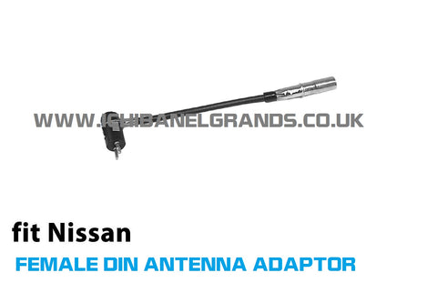NISSAN Elgrand E51 FEMALE & MALE Antenna adapter for Double Din
