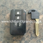 Nissan Elgrand S1 E51 key fob twin door & New key
