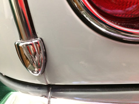 Rear Shield Chrome