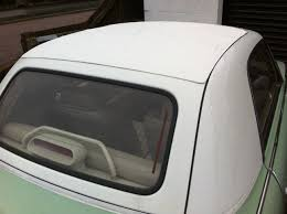 Fiberglass Rear Window Panel