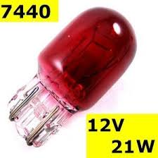 Bulb RED 21W FOG LIGHT BULB
