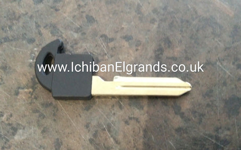 Nissan Elgrand E51 Key Blank With Chip Square Fob