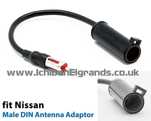 NISSAN Elgrand E51 Antenna adapter for Double Din
