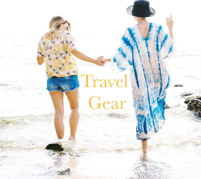 travel gear and accessories