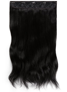20 Inch Clip In One Piece/ Volumiser #1 Jet Black