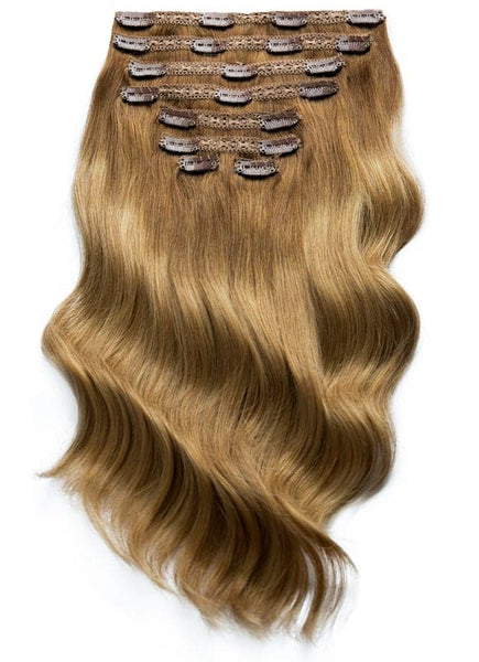 20 Inch Ultimate Volume Clip in Hair Extensions T#04/08 Ombre