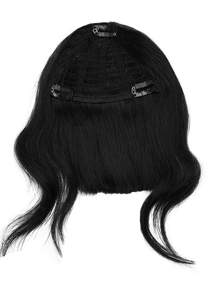 Clip in Fringe/ Bangs #1 Jet Black