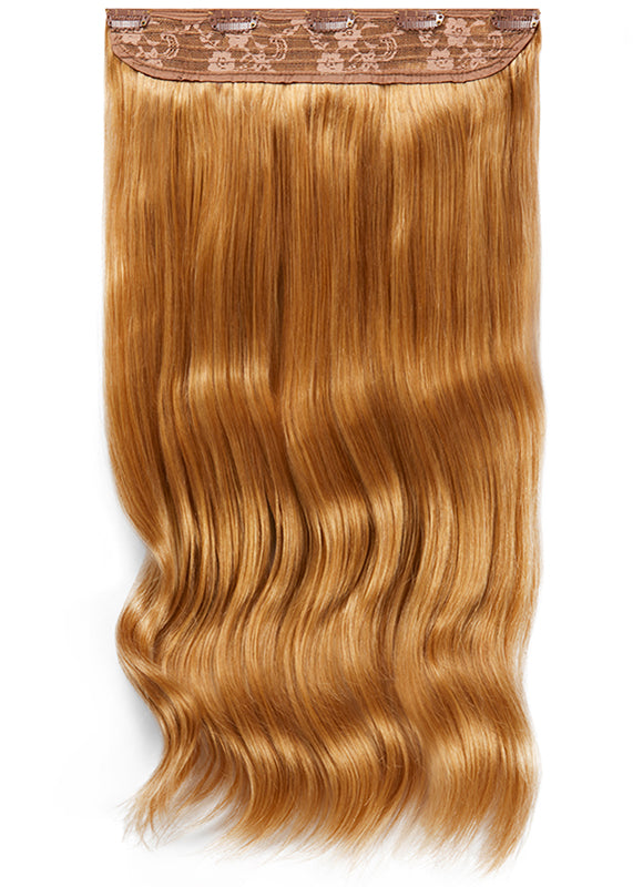 20 Inch Clip In One Piece/ Volumiser #14 Dark Blonde