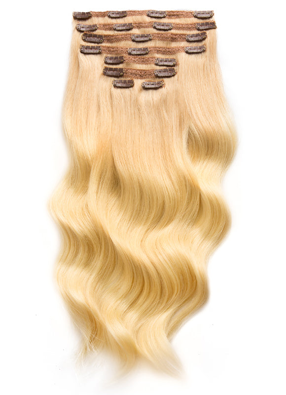 20 Inch Ultimate Volume Clip in Hair Extensions T#16/60 Ombre