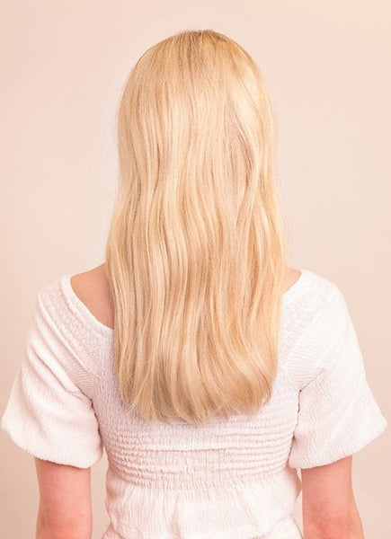 16 Inch Full Volume Clip in Hair Extensions #60 Light Blonde